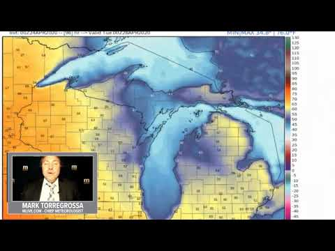 Michigan Weather Forecast Friday April 24 2020 Youtube