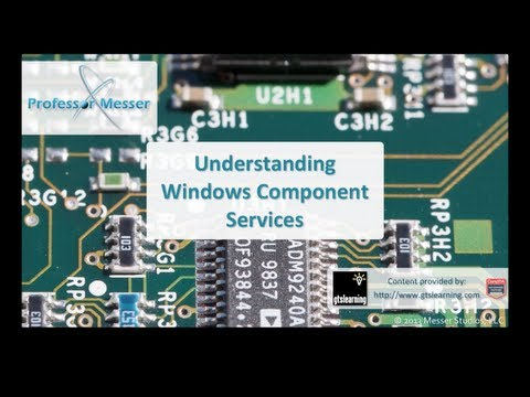 Understanding Windows Component Services - CompTIA A+ 220-802: 1.4