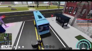 Roblox Vehicle simulator bus driving
