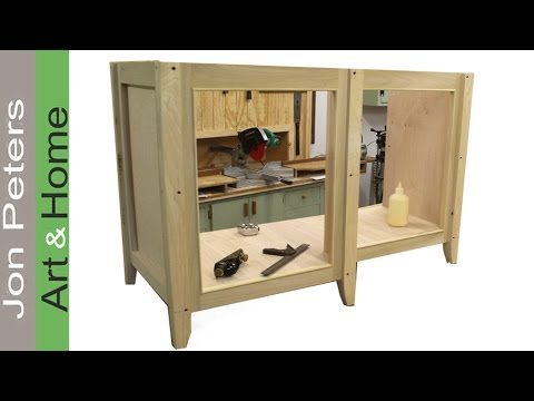 How to Build a Bathroom Vanity Cabinet Part 1