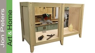 Build A Bathroom Vanity Cabinet Part 1