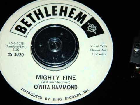 O'Nita Hammond - Mighty Fine