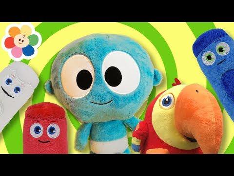 si-estas-feliz-y-lo-sabes-y-más-|-canciones-infantiles-con-juguetes-para-niños-|-baby-first-español