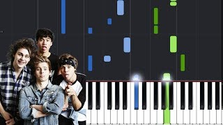 """5 Seconds Of Summer - """"Empty Wallets"""" Piano Tutorial - Chords - How To Play - Cover"""
