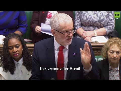 Corbyn uses Fox's claim about 40 #Brexit trade deals against him