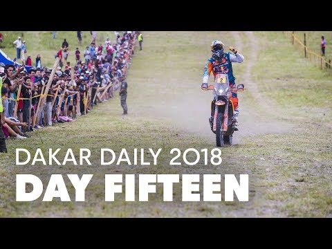 Day 15: Walkner, Sainz and Nikolaev Win | Dakar Daily 2018