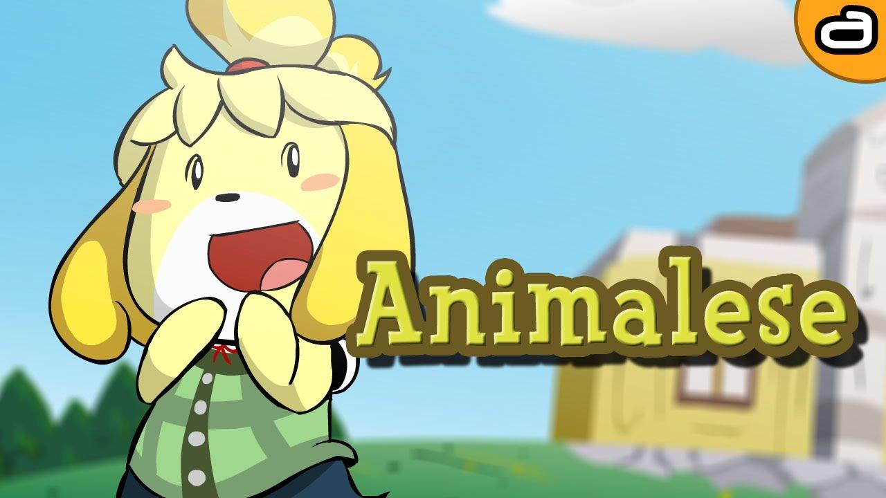 animalese animal crossing parody youtube
