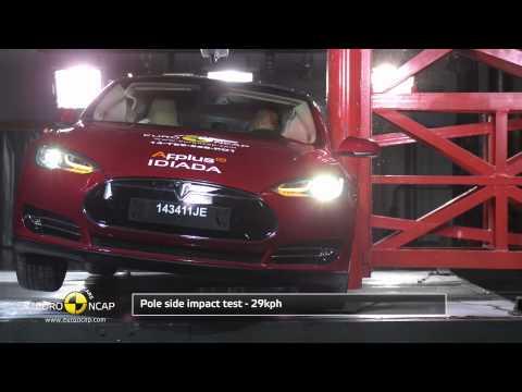 Euro NCAP Crash Test of Tesla Model S 2014