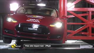 Euro NCAP Crash Test of Tesla Model S 2014