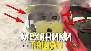 ЧИНЮ ДОРОГИЕ АВТОМОБИЛИ! ПРОСТАЯ РАБОТА МЕХАНИКА! - GTA:CRMP RADMIR RP #18
