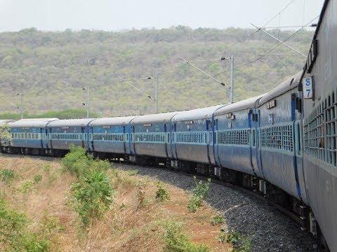 Mumbai To Hyderabad : Full Journey : 12701 CSMT - HYB Hussain Sagar Express : Indian Railways
