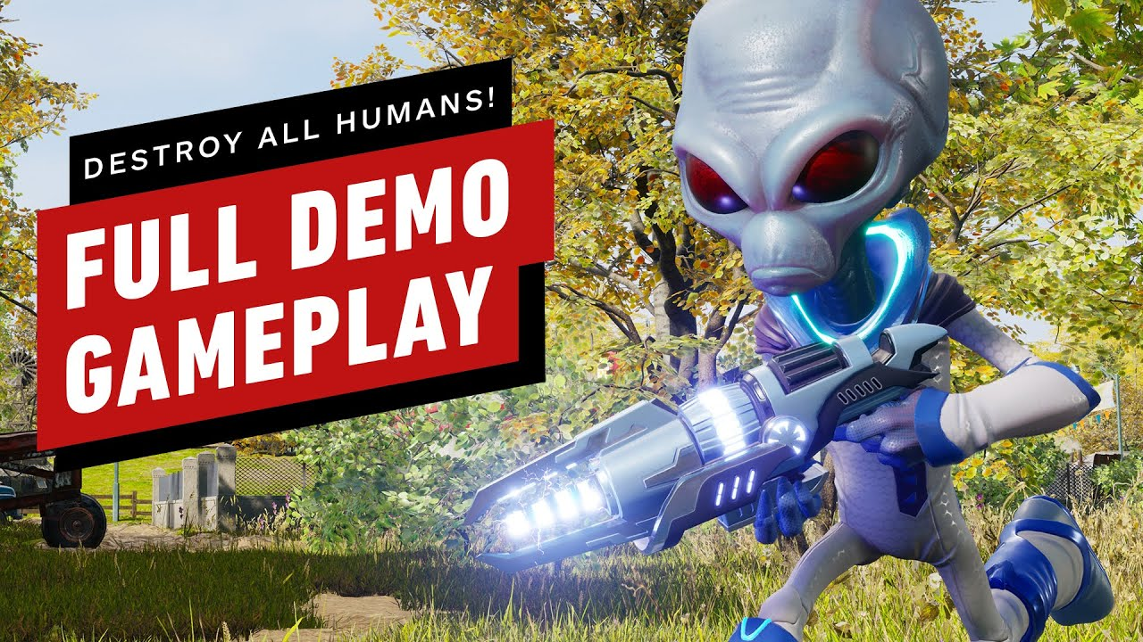 Destroy All Humans! Remake: Full Demo Gameplay - IGN