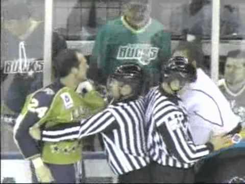 Rob Cowan vs. Aaron Boogaard
