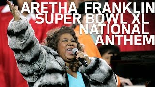 Aretha Franklin Sings National Anthem at Super Bowl 40 | NFL