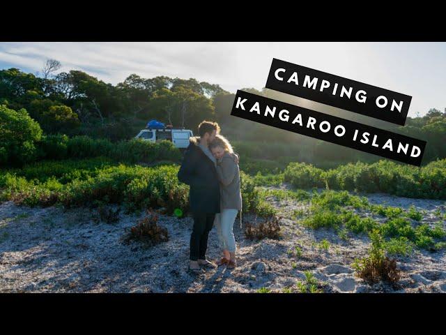 Camping on Kangaroo Island | Kangaroo Island Vlog Episode #1