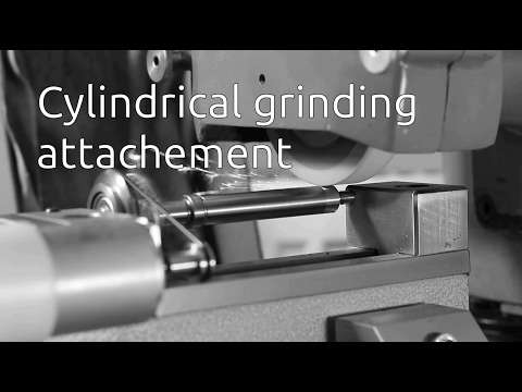Cylindrical grinding attachement - Part 2