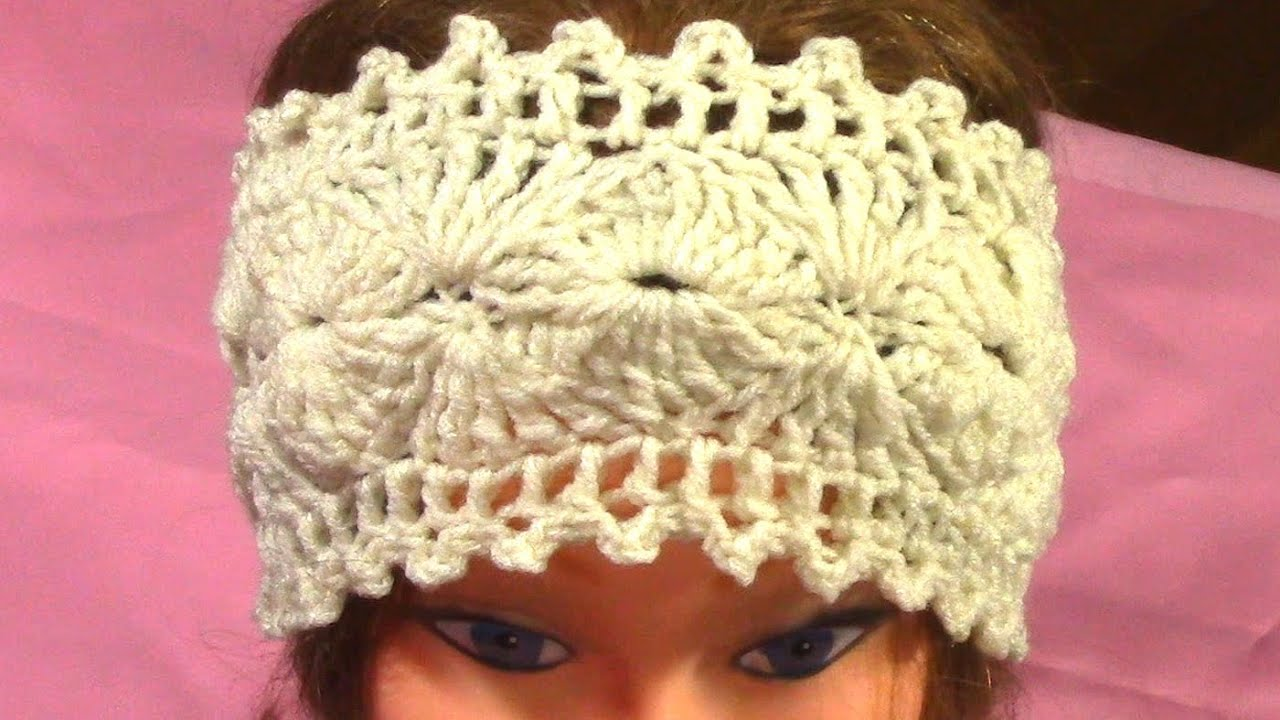 Diy hot crochet headband tutorial pattern youtube baditri Image collections