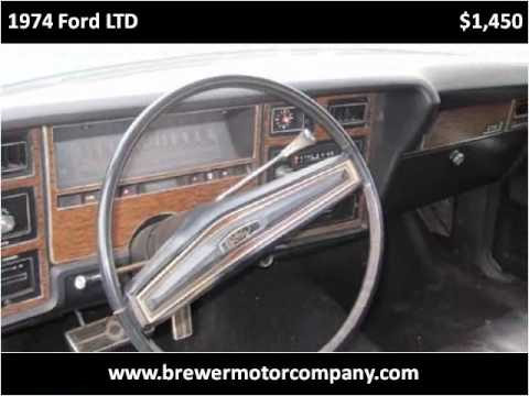 1974 ford ltd used cars pulaski tn youtube for Bryan motors pulaski tn