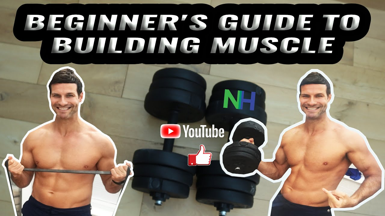 how to build muscle in home