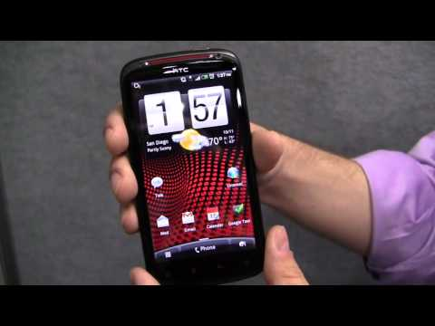 HTC Sensation XE Hands On