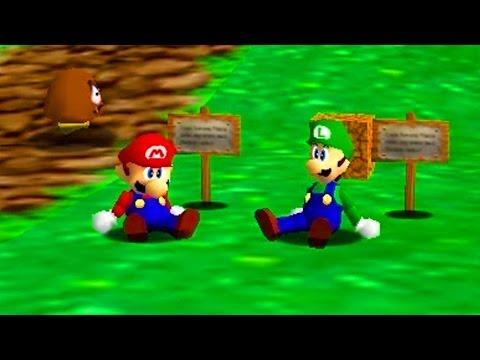 JEN BREAKS THE GAME! - Super Mario 64 Co-Op w/Jen Episode 1