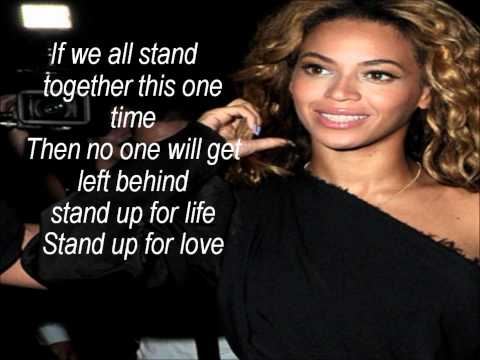 Destiny's Child Stand Up For Love With Lyrics