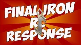 #i3 Iron RC Final Response Early @IronSyk @IronRadec