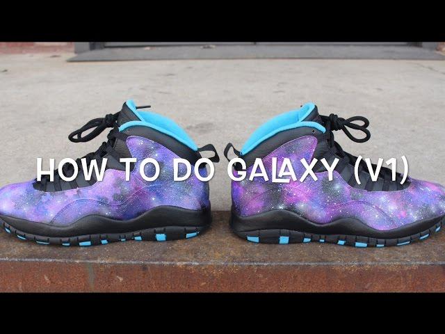 HOW TO DO GALAXY TUTORIAL! ( Galaxy Jordan 10 )