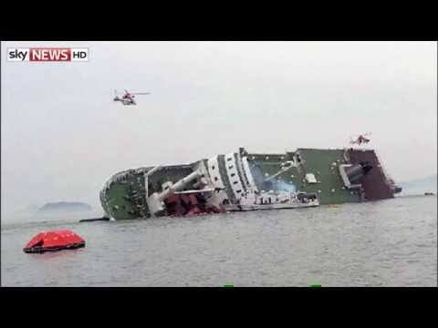 Hundreds Rescued From Ferry Off South Korea
