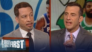 Gottlieb and Broussard disagree on which player will dominate the East | NBA | FIRST THINGS FIRST