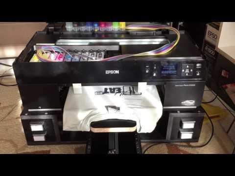 Epson R3000 Diy DTG printer
