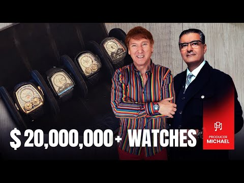 JACOB ARABO BRINGS ME $20,000,000+ WATCHES AND A BIG SURPRISE!!