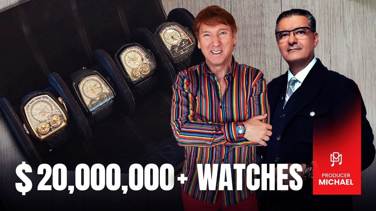 JACOB BRINGS ME $20,000,000+ WATCHES AND A BIG SURPRISE!!