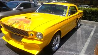 1965 Ford Mustang - Custom Vintage Classic Hot Rod - American Muscle Cars