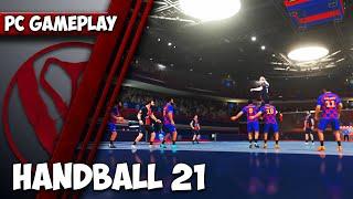 Handball 21 Gameplay PĊ | 1440p HD | Max Settings