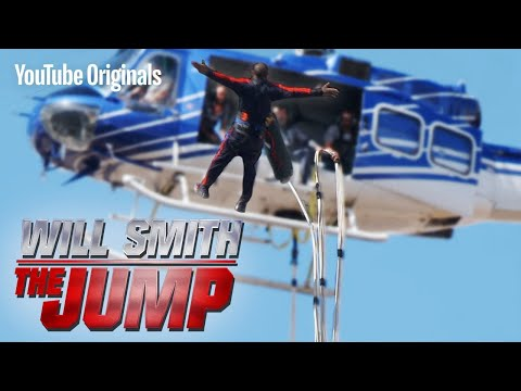 Raphael - Will Smith Bungee Jumps Out of Helicopter For 50th Birthday!