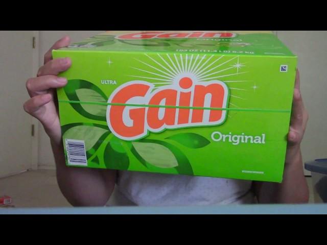 Gain Ultra Powder Laundry Detergent Original Scent 11.4 lbs Unboxing | Detergent | Gain