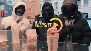 (NR) Tzgwala x YA x Lucii - Dunkin Donuts (Music Video) Prod. By SvOnTheBeat | Pressplay