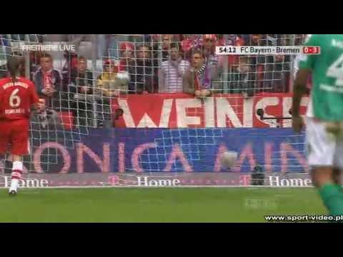 Bayern 0-Werder 3 Mesut Ozil