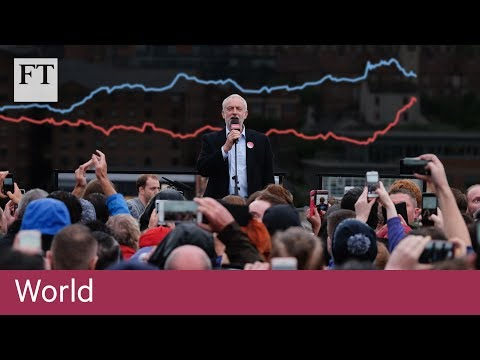 UK election: Corbyn's surge in charts