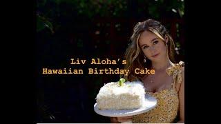 Liv Aloha's Lilikoi Birthday Cake