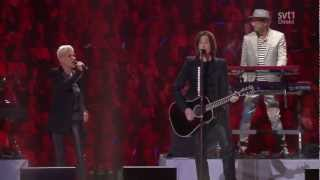 Roxette - It Must Have Been Love & She's Got The Look (Live, invigningen Friends Arena 2012) HD