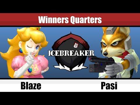 Icebreaker - Blaze (Peach) Vs. Pasi (Fox) - Winners Quarters - Melee Singles