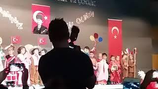 23 nisanda Zehranazımın veŞehit Emrah Pekdoğan okulunun gösterisi