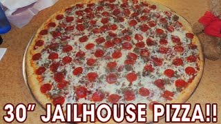 """UNDEFEATED 30"""" JAILHOUSE PIZZA CHALLENGE!!"""