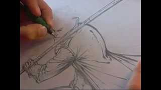 How to draw Gambit (part 1)