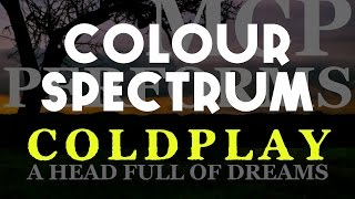 Watch Coldplay Colour Spectrum video