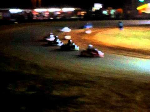 Consi B race at Crossroads Motorplex for the INOX 100 Challenge