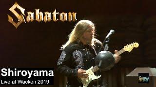 Sabaton - Shiroyama live at Wacken Open Air 2019