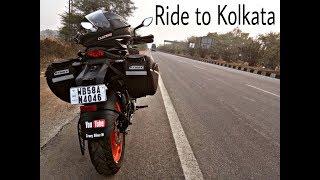 Day 1| Berhampore to Kolkata | KTM DUKE 200
